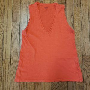 MADEWELL V-NECK TANK TOP - XS